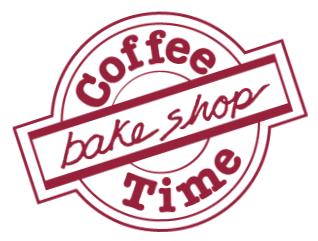 Coffee Time Bake Shop Logo