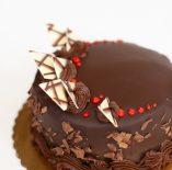 Triple Chocolate with Raspberry