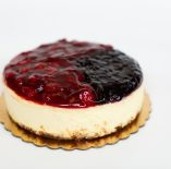 Jam Topped Cheesecake