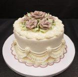 Small Wedding Style Cake