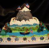 Custom Eagle Scout Cake
